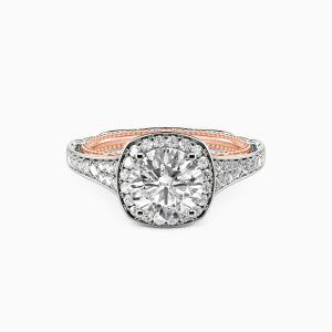 10K White Gold  Love Is You And Me Collection Erotas