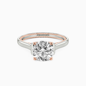 10K White Gold  Love Means Forever Collection Erotas