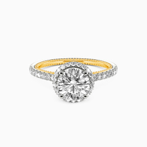 10K White Gold I Choose You Collection Erotas