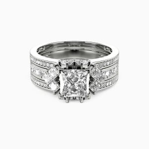 10K White Gold Love Moments Collection Aurora