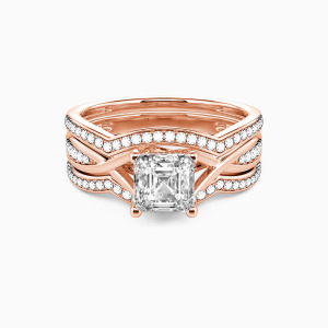 10K Rose Gold My Other Half Engagement Bridal Sets