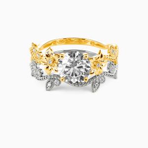 10K Gold My Sunshine Engagement Bridal Sets