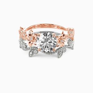 10K Rose Gold My Sunshine Engagement Bridal Sets