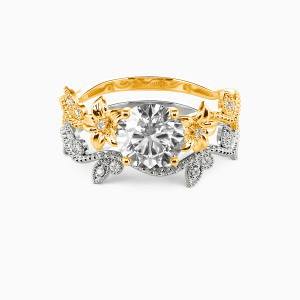14K Gold My Sunshine Engagement Bridal Sets