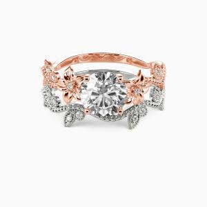14K Rose Gold My Sunshine Engagement Bridal Sets