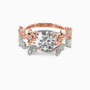 18K Rose Gold My Sunshine Engagement Bridal Sets