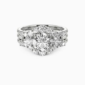 10K White Gold I Do Engagement Bridal Sets