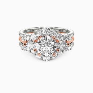 14K Rose Gold I Do Engagement Bridal Sets