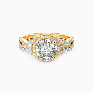 10K Gold A Match Made in Heaven Engagement Bridal Sets