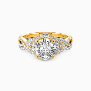 14K Gold A Match Made in Heaven Engagement Bridal Sets