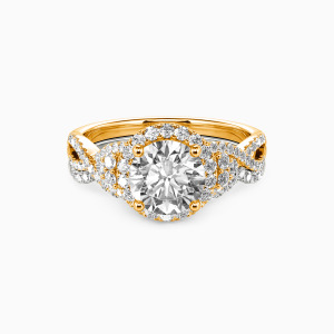 18K Gold A Match Made in Heaven Engagement Bridal Sets