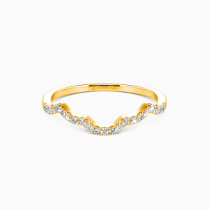 10K Gold A Match Made in Heaven Wedding Classic Bands