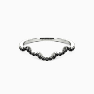 10K White Gold A Match Made in Heaven Wedding Classic Bands