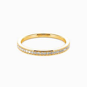 14K Gold Live Your Dreams Wedding Classic Bands