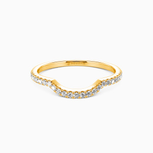 14K Gold The Light of My Life Wedding Classic Bands