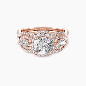 10K Rose Gold Always Here For You Engagement Bridal Sets