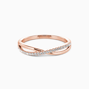 14K Rose Gold Sweet On You Wedding Classic Bands