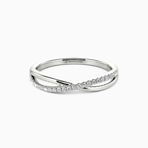 14K White Gold Sweet On You Wedding Classic Bands