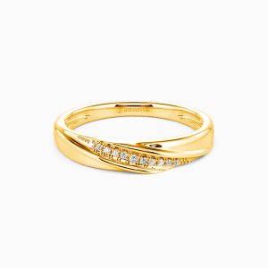 10K Gold My Forever Love Wedding Classic Bands