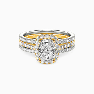 10K Gold With All My Love Engagement Bridal Sets