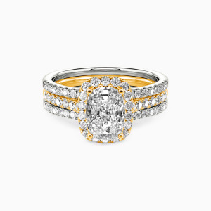 14K Gold With All My Love Engagement Bridal Sets