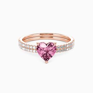 10K Rose Gold You're Magical Engagement Bridal Sets