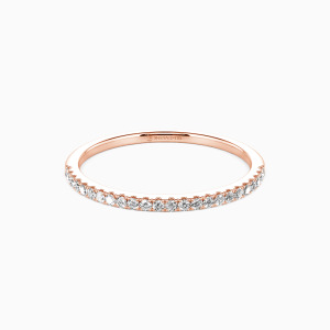 10K Rose Gold You're Magical Wedding Classic Bands