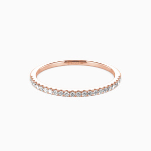 14K Rose Gold You're Magical Wedding Classic Bands