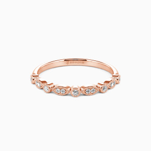 10K Rose Gold All of Me Loves All of You Wedding Classic Bands