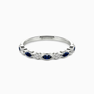 10K White Gold Truly Love You Wedding Classic Bands