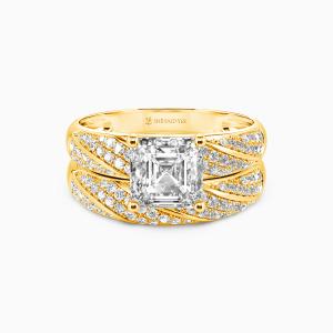 10K Gold Your Sweetness Engagement Bridal Sets