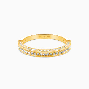 10K Gold You're My World Wedding Classic Bands