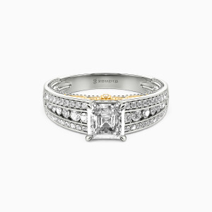 14K White Gold Be Mine Collection Erotas