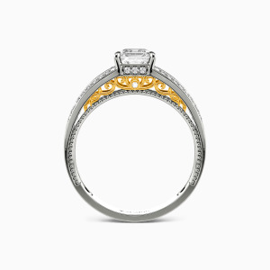 10K White Gold Be Mine Collection Erotas