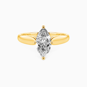 10K Gold Always Love You Engagement Solitaire Rings