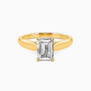 14K Gold Always Love You Engagement Solitaire Rings