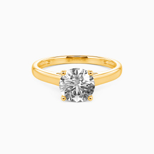 14K Gold Love Story Engagement Solitaire Rings