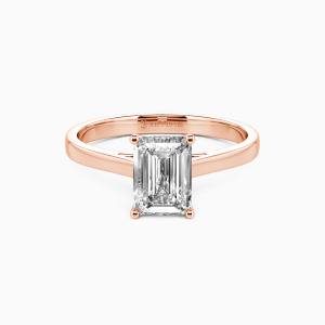 10K Rose Gold Give You My All Engagement Solitaire Rings