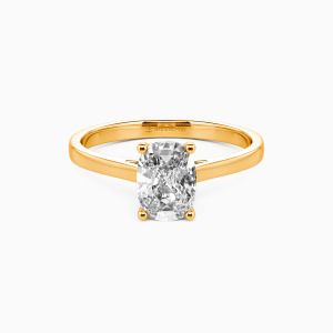 18K Gold Give You My All Engagement Solitaire Rings