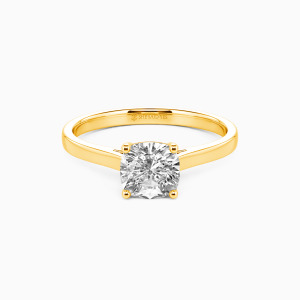 10K Gold Give You My All Engagement Solitaire Rings