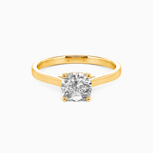 14K Gold Give You My All Engagement Solitaire Rings