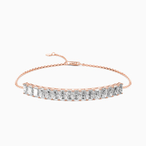 10K Rose Gold To My Valentine Jewelry Bracelets