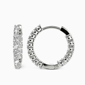 10K White Gold My Sunshine Jewelry Earrings