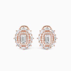 10K Rose Gold Best For you Jewelry Earrings