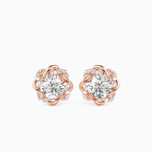 10K Rose Gold My Beloved Jewelry Earrings