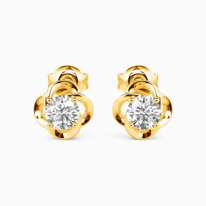 10K Gold Get Lucky Jewelry Earrings