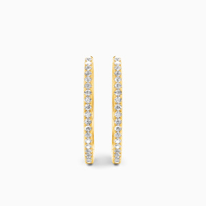 10K Gold I'll Be Your Shelter Jewelry Earrings