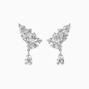 10K White Gold The Original Dream Jewelry Earrings