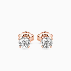 10K Rose Gold My Wish For You Jewelry Earrings