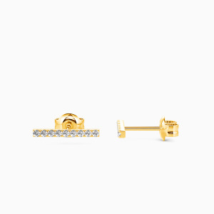 10K Gold Love Because Of You Jewelry Earrings